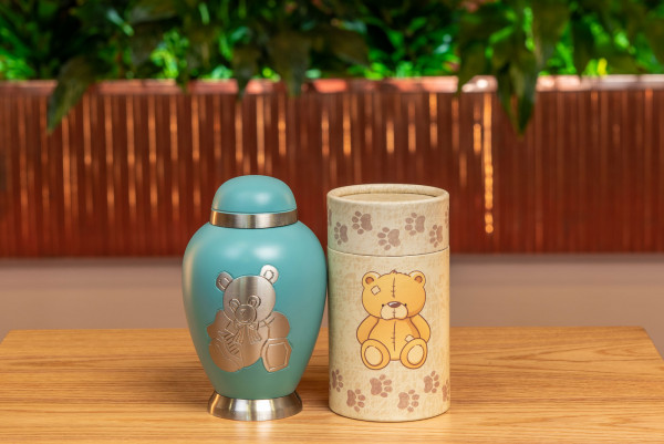 Teddy Urn & Scatter Tube